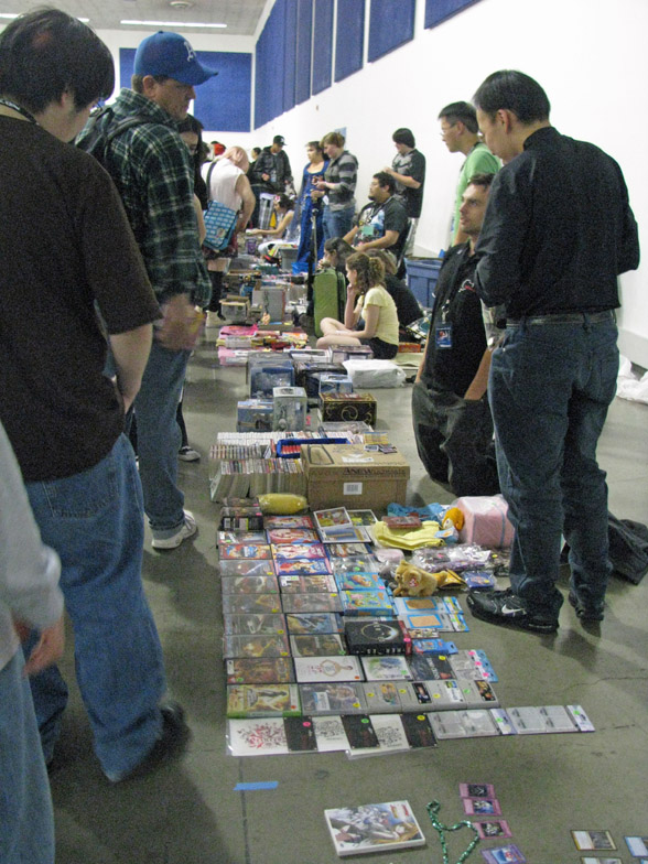 Fanime anime swap meet 2010