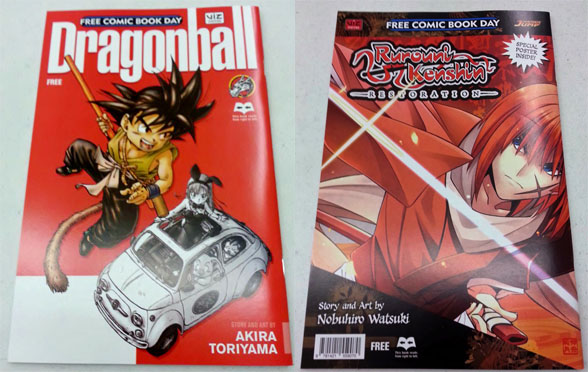 Dragonball and Rurouni Kenshin Restoration