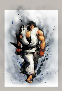 Ryu, Street Fighter IV edition. Image courtesy Capcom.
