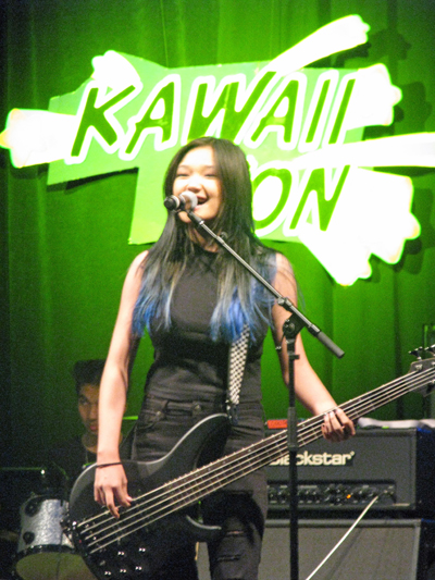 EMKE rocks out during closing ceremonies at Kawaii Kon 2015. Photo by Jason S. Yadao.
