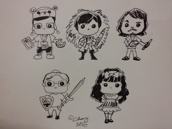 roy chang funkofied drawings