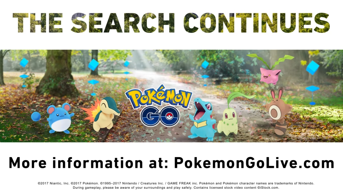 Pokemon Go (finally!) gets Gen 2 boost