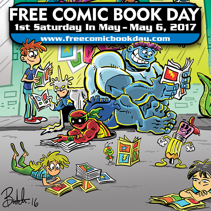 Get your comic on with freebies statewide