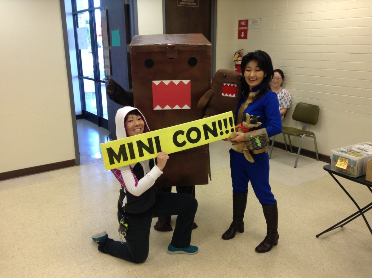 McCully-Moiliili Library's Mini Con marches on