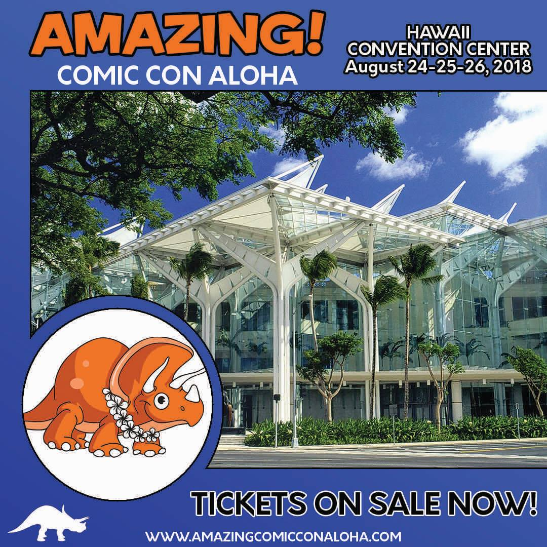 Amazing Comic Con Aloha postponed