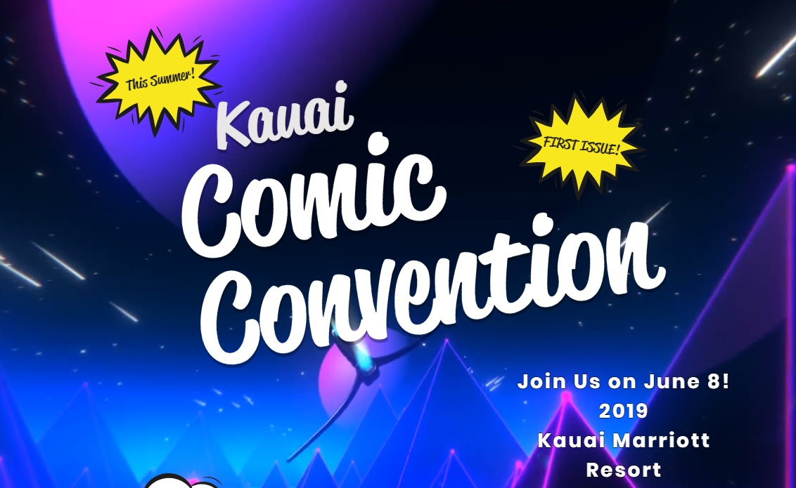 Kauai getting its first comic con this year