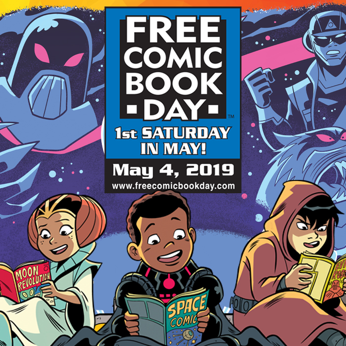 The Otaku Ohana Best-to-my-Knowledge Local Guide to Free Comic Book Day2019